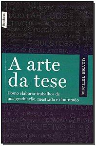 A arte da tese - (edicão de bolso)