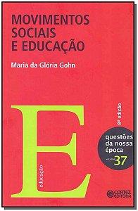 Movimentos Sociais e Educação - Vol. 37