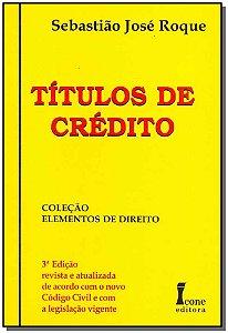 Títulos de Crédito - 03Ed/06