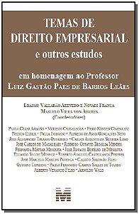 Temas de Direito Empresarial - Homenagem ao Professor Luiz Gastão