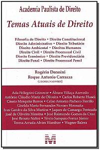 Temas Atuais de Direito - 01 Ed. / 08