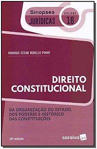 Sinopses Jurídicas - Vol. 18 - Direito Constitucional - 18Ed/19