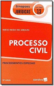 Sinopses Jurídicas - Vol. 13 - Processo Civil - 16Ed/19