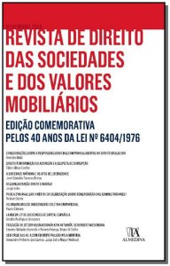 Revista de Direito das Sociedades e dos Valores Mobiliários - Nº 01 - 01Ed/16