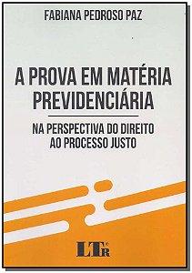 Prova em Matéria Previdenciária, A - 01Ed/18