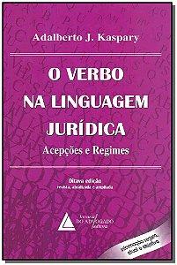 O Verbo na Linguagem Jurídica - 08Ed/14