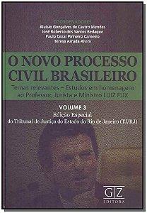 Novo Processo Civil Brasileiro, O - Vol. 03 - 01Ed/18