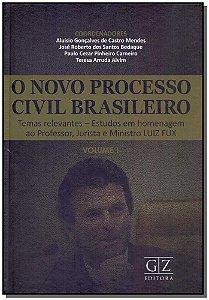 Novo Processo Civil Brasileiro Vol. I - 01ed/18