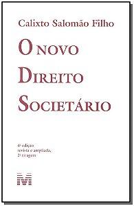 Novo Direito Societário, o - 04 Ed. - 2011