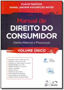 Manual do Direito do Consumidor - Volume Único - 08Ed