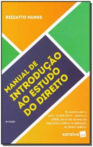 Manual de Introdução ao Estudo do Direito - 16Ed/19