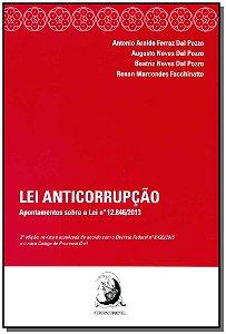 Lei Anticorrupcao-apont. S/lei N.12.846/13-02ed/15