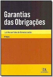 Garantia das Obrigações - 06Ed/18