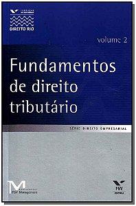 Fundamentos de Direito Tributário - Vol.02
