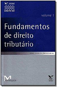 Fundamentos de Direito Tributário - Vol.01
