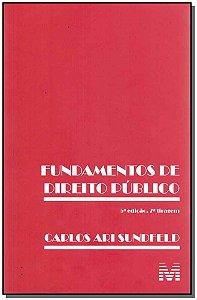 Fundamentos De Direito Publico - 05Ed - 07Tir/17