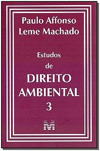 Estudos de Direito Ambiental 3 - 01Ed/19