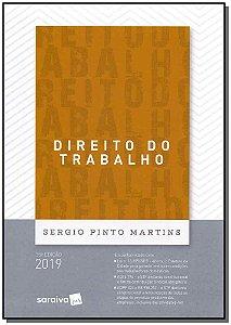 Direito do Trabalho - 35Ed/19