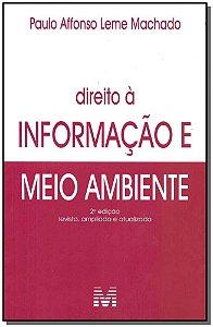 Direito à Informação Meio Ambiente - 02Ed/18