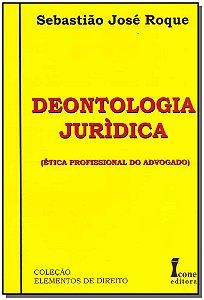 Deotologia Jurídica - 01Ed/09
