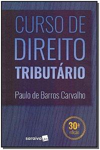 Curso de Direito Tributário - 30Ed/19