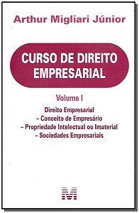 Curso de Direito Empresarial - Volume I