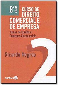 Curso de Direito Comercial e de Empresa - Vol. 2 - 08Ed/19