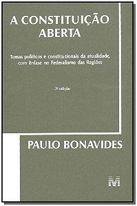 Constituição Aberta, a - 03 Ed. - 2004