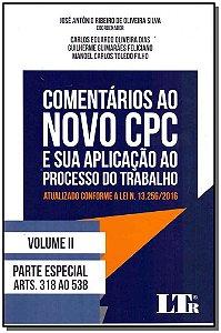 Comentarios Ao Novo Cpc - Vol.ii - 01Ed/17