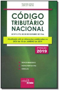 Código Tributário Nacional - 02Ed/19 - Mini