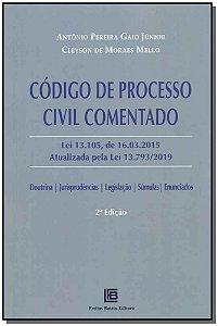 Código de Processo Civil Comentado - 02Ed/19