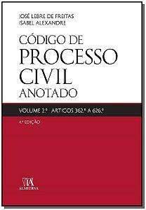 Código de Processo Civil Anotado - Vol. 2 - 04Ed/19