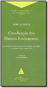 Classificação dos Direitos Fundamentais - 03Ed/18