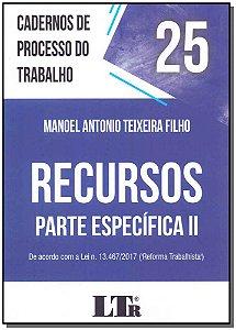 Cadernos de Processo do Trabalho N.25 - 01Ed/19