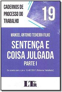 Cadernos de Processo do Trabalho N.19 - 01Ed/18