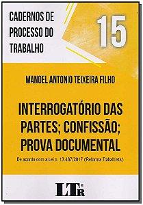 Cadernos de Processo do Trabalho N.15 - 01Ed/18