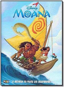 Moana - A História do Filme em Quadrinho