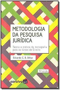 Metodologia da Pesquisa Jurídica - 16ED/19