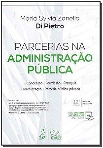 Parcerias na Administração Pública - 12Ed/19