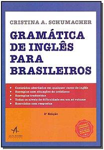Gramática de Inglês Para Brasileiros - 02Ed/18