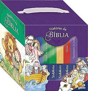 Historias Da Biblia(biblioteca) - Kit C/06 Und
