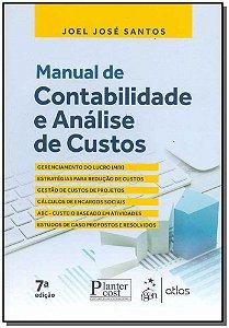 Manual de Contabilidade e Análise de Custos - 07Ed/17