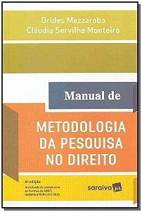 Manual de Metodologia da Pesquisa no Direito - 08Ed/19