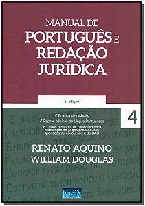 Manual de Português e Redação Jurídica - Vol. 04