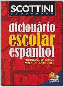 DICIONÁRIO ESCOLAR ESPANHOL