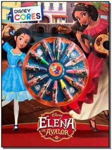 Disney - Cores - Elena de Avalor