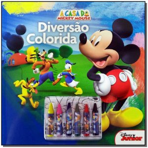 Disney - Diversão Colorida - Mickey