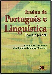 ENSINO DE PORTUGUES E LINGUÍSTICA