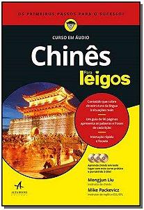 Chinês Para Leigos - Curso em Áudio - Com CD