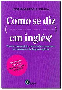 Como Se Diz em Inglês?